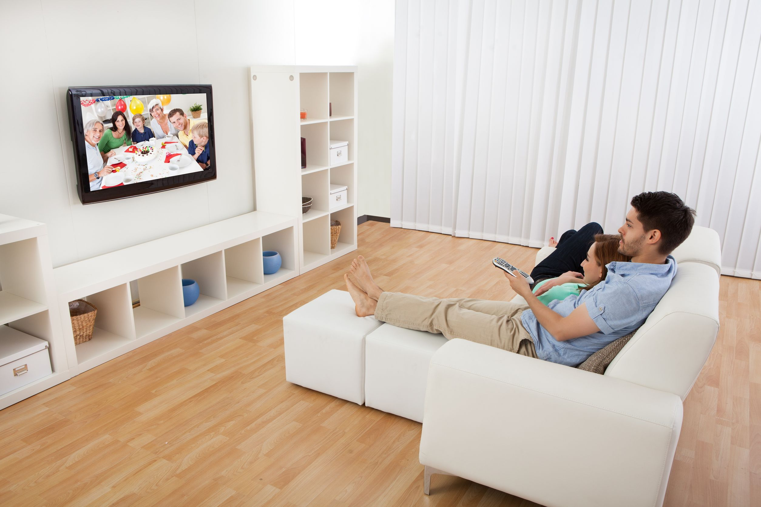 Family Room Looking At Tv